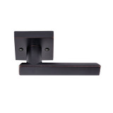 Dark Bronze Santa Cruz Reversible Dummy Lever (91311DB) by Better Home Products and sold by Complete Home Hardware. Franklin, TN
