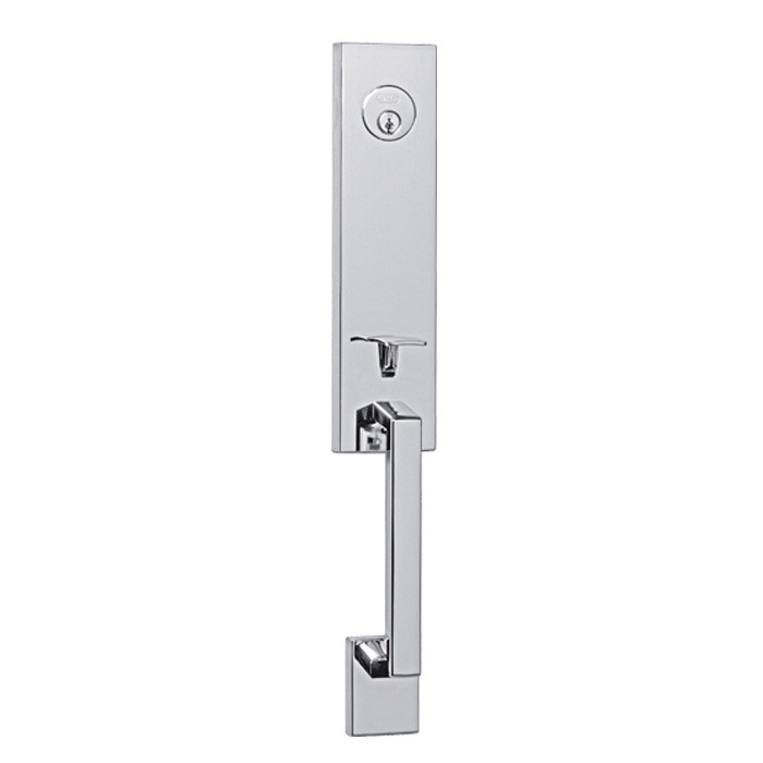 Chrome Fishermans Wharf Front Door Entry Handleset By Better Home