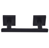 Matte Black Santa Cruz Paper Holder 9109BLK from Santa Cruz Bathroom accessories collection by Better Home Products