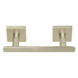 Satin Nickel Santa Cruz Paper Holder 9109SN from Santa Cruz Bathroom accessories collection by Better Home Products