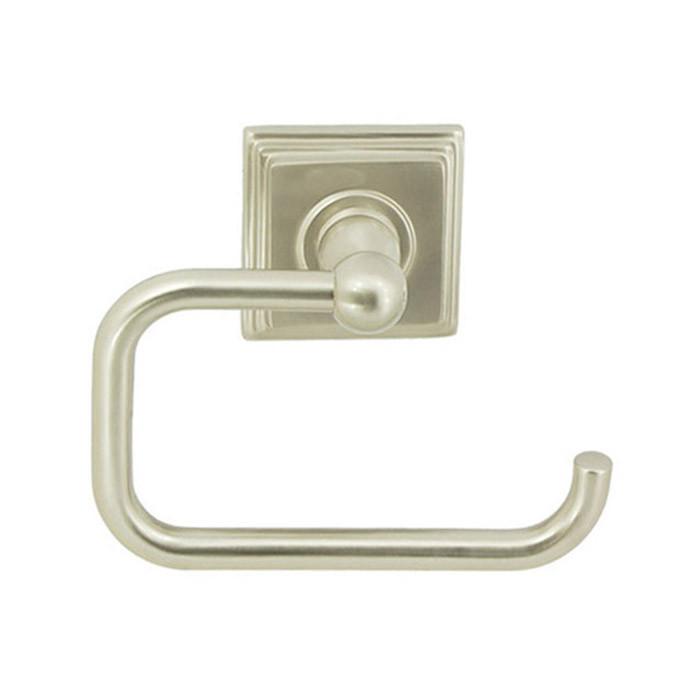 Satin Nickel Union Square Euro Paper Holder