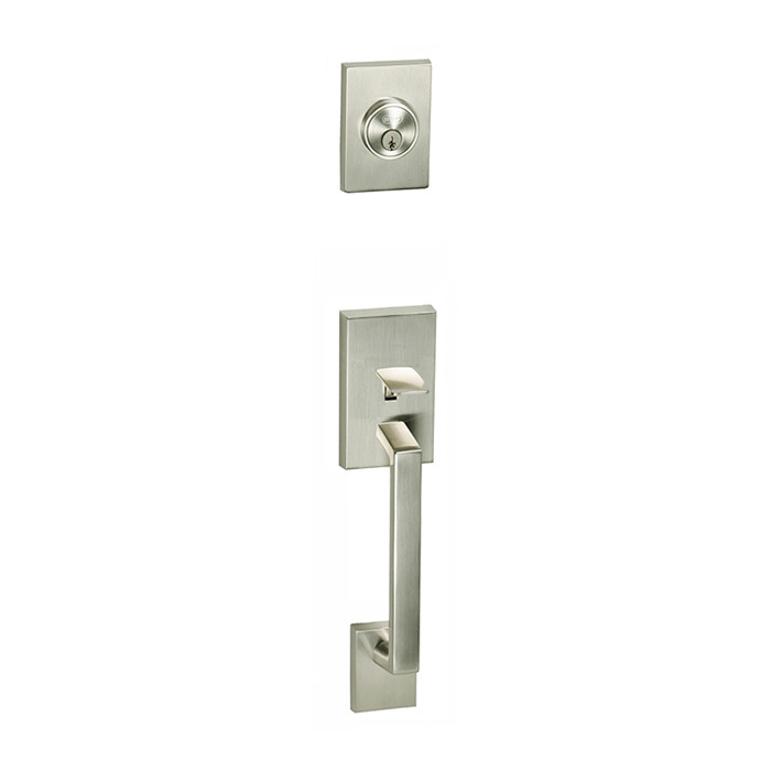 Satin Nickel Tiburon Front Door Entry Handleset By Better Home Products,  Sold By Complete Home