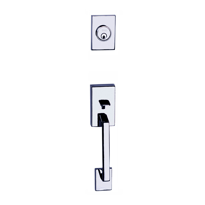 Chrome Tiburon Front Door Entry Handleset By Better Home Products, Sold By  Complete Home Hardware