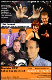 Visit Houdini Club Convention website...