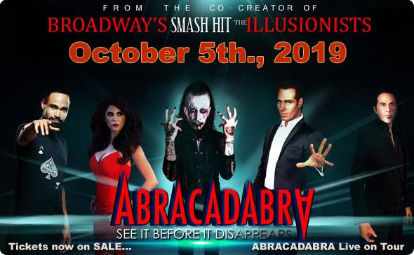 ABRACADABRA Live on Tour - Brett Daniels