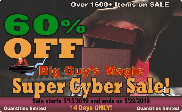 Big Guy's 2019 Super Cyber Sale! 60% Off Select Items