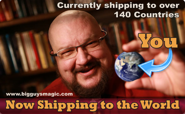 Big Guy's Magic offers Worldwide shipping.