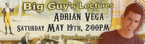 Adrian Vega lecture at Big Guy's
