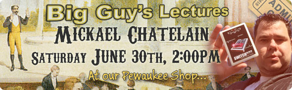 Mickaël Chatelain lecture at Big Guy's