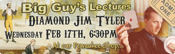 Diamond Jim Tyler's Lecture