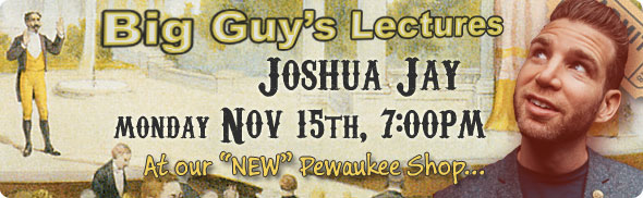 Joshua Jay Lecture