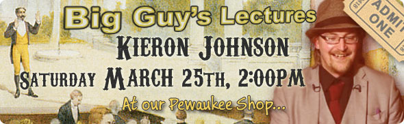 Kieron Johnson's Lecture
