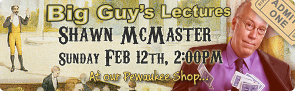 Visit Shawn McMaster's Lecture