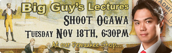 Shoot Ogawa Lecture