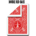 Double Back RED, Bicycle, Poker