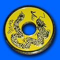 Chinese Coin - Yellow