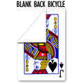 Blank Back, Bicycle, Poker