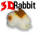 3D Rabbit, Goshman - 5 Inch