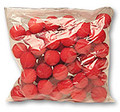 "Clown Nose 1.5"" - Sponge BAG of 50"