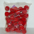 "Sponge Balls Bag of 50  1.5"" SS Red"