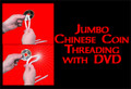Jumbo Chinese Coin Threading w/ DVD