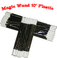 "Magic Wand 10"" Plastic - Dozen"