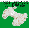 Rope, Soft 50 Ft. White - Packaged