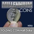 Folding Half Dollar - Wavy Cut