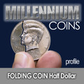 Folding Half Dollar - Profile Cut - Mill.