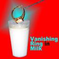 Vanishing Ring in Milk w/ Glass