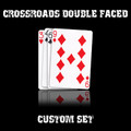 CrossRoads Double Faced set in USPCC stock (with instructions) by Ben Harris - Trick