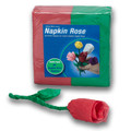 Napkin Rose - Refill (Red) by Michael Mode - Trick