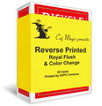 Reverse Printed Cards by Caj Magic