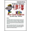 Four Card Surprise by Lothar Vogt - Trick