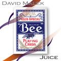 Marked Deck (Blue Bee Style, Juice) by David Malek - Trick