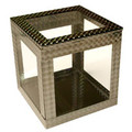 6 inch Crystal Clear Cube by Ickle Pickle - Trick