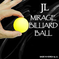 Mirage Billiard Balls by JL (Yellow, single ball only) -Trick
