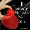 Mirage Billiard Balls by JL (RED, shell only) - Trick