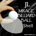 Mirage Billiard Balls by JL (WHITE, shell only) - Trick