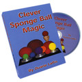 Clever Sponge Ball Magic by Duane Laflin - DVD