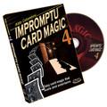 Impromptu Card Magic Volume #4 by Aldo Colombini - DVD