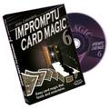 Impromptu Card Magic Volume #6 by Aldo Colombini - DVD