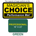 Professional Close-Up Mat (GREEN - 16x23) by Ronjo - Trick
