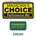 Standard Close-Up Mat (GREEN - 10.5x15.5) by Ronjo  - Trick