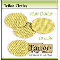 Teflon Circle Half Dollar size (10 units) by Tango -Trick (T001)