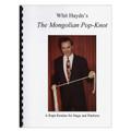 Mongolian Pop-Knot book