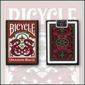 Bicycle Dragon Back Cards (Red) by USPCC