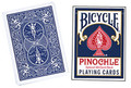 Cards Bicycle Pinochle Poker-size (Blue)