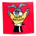 Happy Birthday Silk 36 inch by Vincenzo Di Fatta - Trick