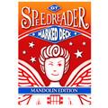 GT Speedreader Marked Deck (809 Mandolin Red Back)
